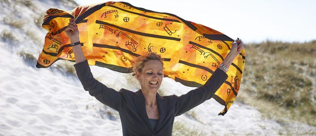 Tekstildesigner Bente Hammer