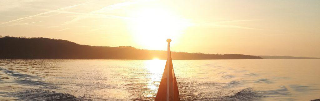 Sejlads Solnedgang