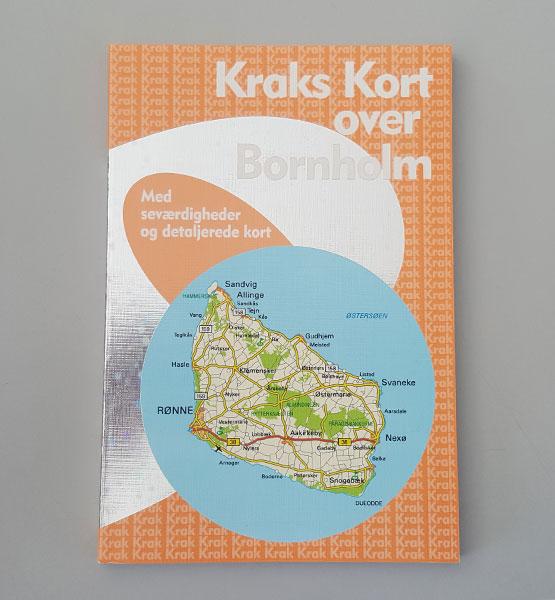Kraks Kort Over Bornholm Bornholm