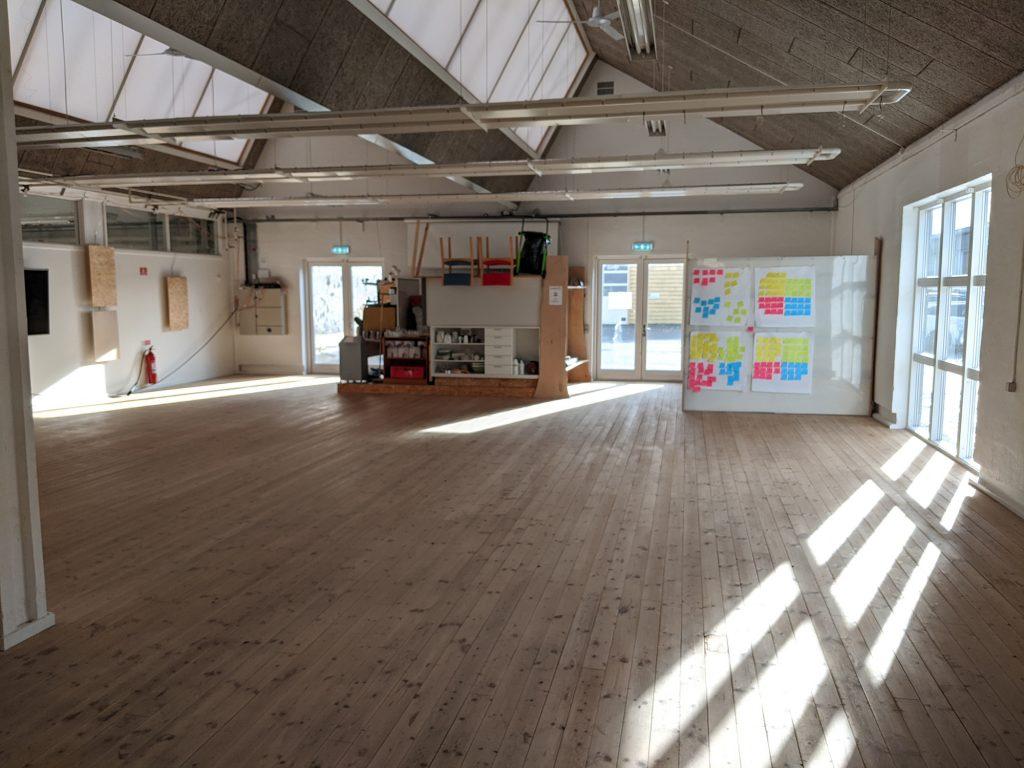 Mødelokale tomt Møbelfabrikken