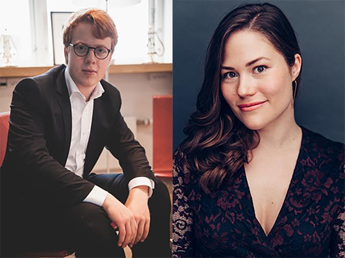 Clara Thomsen og Elias Holm